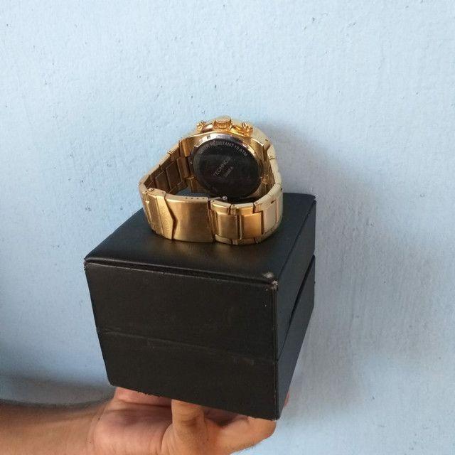 Relógio de ouro original da Technos. - Foto 6
