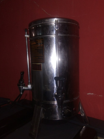 Cilindro de pastel profissional e cafeteira industrial 15 litros - Foto 5