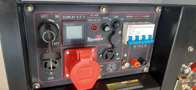 Gerador ZERO a Diesel 7.5 kva - Foto 2