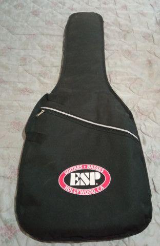 Guitarra Menphis By Tagima MG 260 Sunburst + Case ESP - Foto 4
