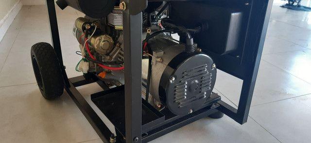 Gerador ZERO a Diesel 7.5 kva - Foto 4