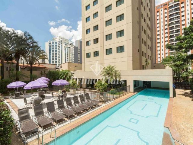 Flat para locação e venda no Mercure São Paulo Ibirapuera Privilege com 1 dormitório e 1 v - Foto 11