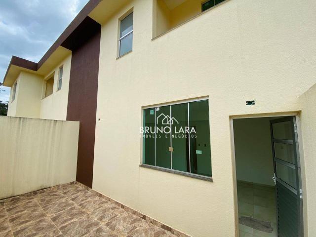 Casa com 3 dormitórios para alugar, 75 m² por R$ 900/mês - Vale Do Amanhecer - Igarapé/MG