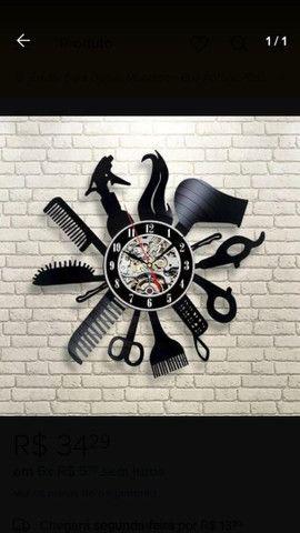 Relógio de parede vinil - Foto 5