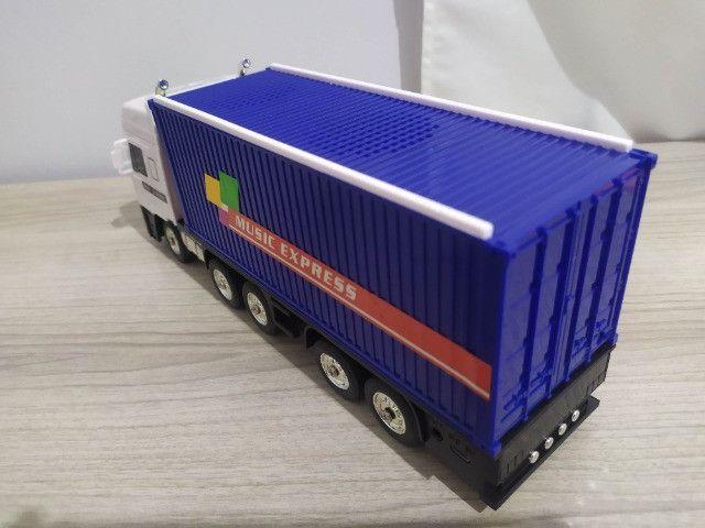 Caixa de Som Bluetooth top - Caminhão Carreta - Foto 4