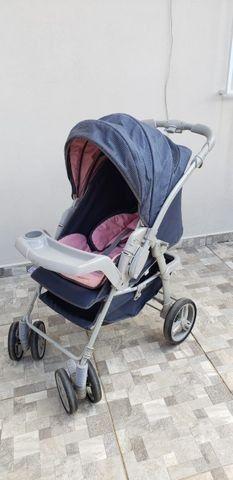 Carrinho de Bebê Galzerano Unissex - Foto 2