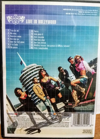 Dvd RBD - Live in Hollywood - Foto 3