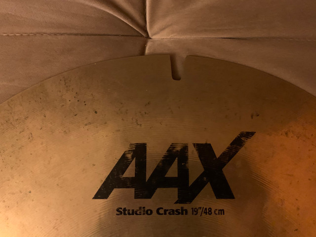 Crash Sabian AAX Studio 19? - Foto 5