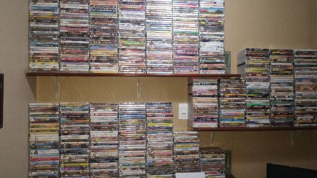 Vendo novecentos DVD's de Filmes e Shows - PREÇO R$ 600,00 - Foto 6