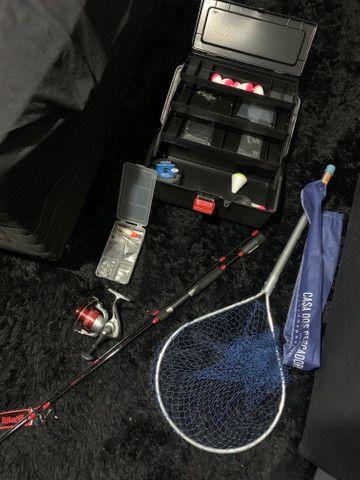Kit de pesca novo, nunca usado - Foto 3