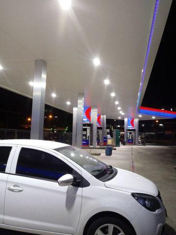 Luminaria em LED ( alta potência) pra posto de gasolina - Foto 3