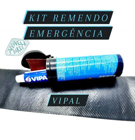 Kit Estojo Remendo VIPAL Reparo p/Cãmaras Bike Selante - Foto 6