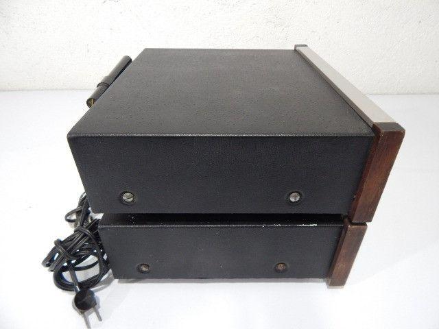 Amplificador e tuner pioneer som antigo anos 70 - Foto 3