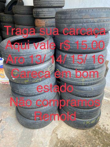 Carcaça pneu pago 15