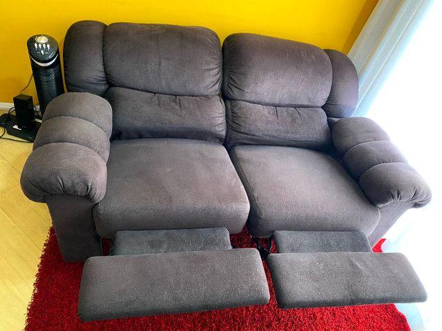 Sofá 2 lugares reclináveis  - Foto 5