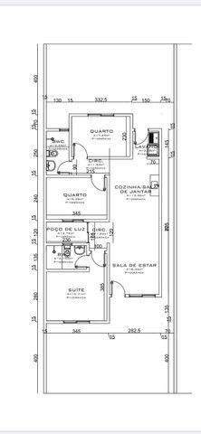 Linda Casa com 1 suíte, 2 quartos no 14 de Novembro - Foto 5
