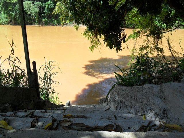 Linda chacara 1,100mt com casa de 3 dormitorios fundo para o rio mogi guaçu otimo local - Foto 15