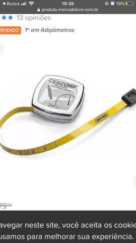 Adipometro cescorf ?nunca usado? - Foto 4