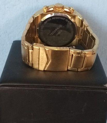 Relógio de ouro original da Technos. - Foto 2