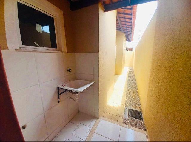 DP casa nova com 2 quartos 2 banheiros com doc. inclusa com entrada facilitada - Foto 9