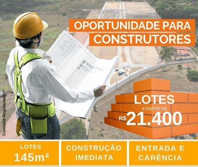 LOTES PARA CONSTRUÇÃO IMEDIATA AS MARGENS DA AV. PRINCIPAL COM PARCELAS DE 179  - Foto 11