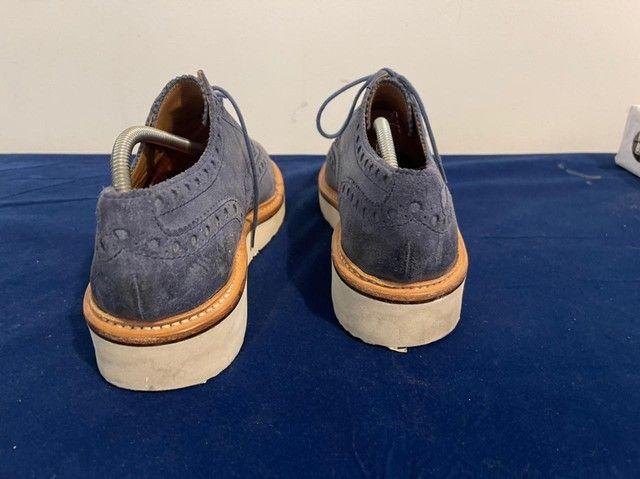 Sapatos ingleses, azul marinho, Grenson, linha esportiva, solas de borracha.  - Foto 2