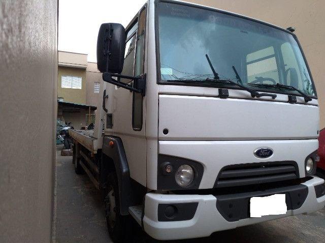 caminhão Ford Cargo 816 S 14/14 Plataforma - Foto 4