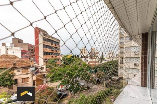 Apartamento com 3 dormitórios para alugar, 96 m² por R$ 3.600,00/mês - Petrópolis - Porto  - Foto 5