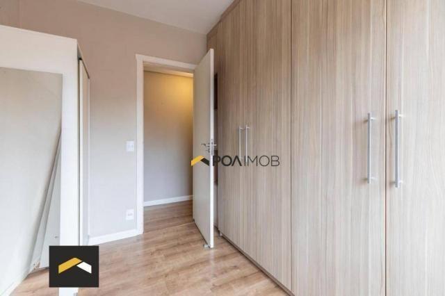 Apartamento com 3 dormitórios para alugar, 96 m² por R$ 3.600,00/mês - Petrópolis - Porto  - Foto 8