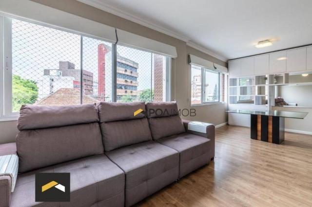Apartamento com 3 dormitórios para alugar, 96 m² por R$ 3.600,00/mês - Petrópolis - Porto  - Foto 4