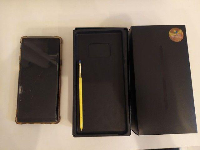 Samsung note 9 tela trincada - Foto 3