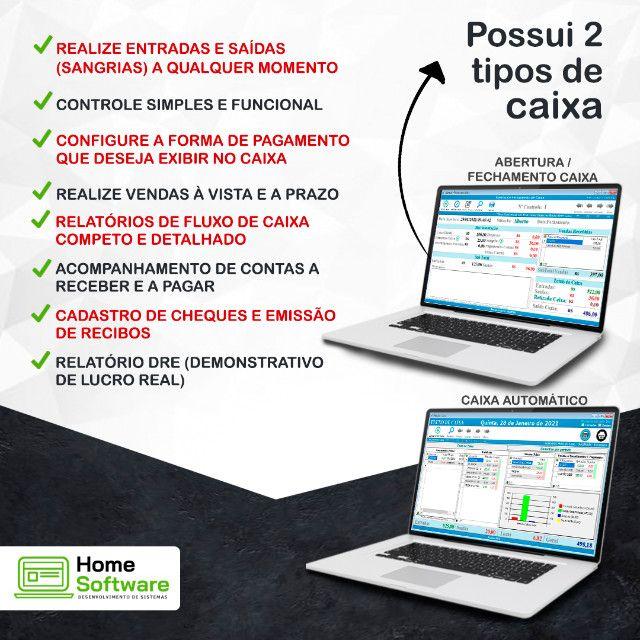 Sistema PDV Frente de Caixa, Financeiro, Entradas, Despesas, Completo - RP - Foto 3