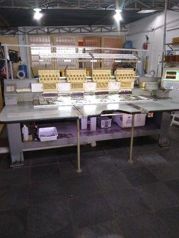 máquina de bordar(2) King Special 4 cabeças 12 cores - Foto 5