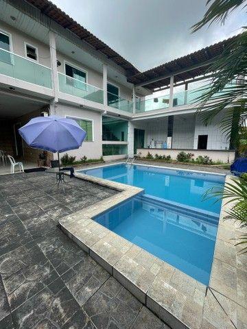Casa com piscina para festas e eventos