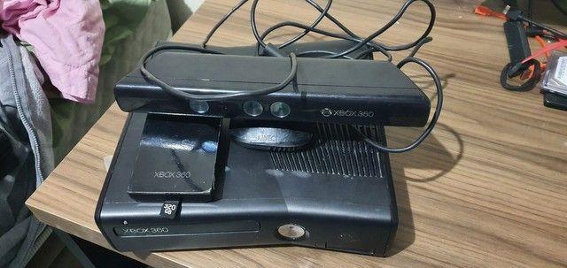 Xbox 360 queimado com acessórios  - Foto 2
