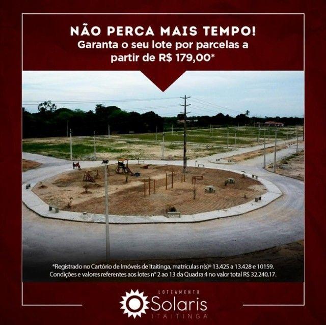 Loteamento Solaris Itaitinga-ce - Foto 3