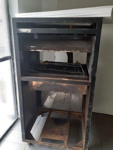 Prateleiras,geladeira,churrasqueira E espelho - Foto 4