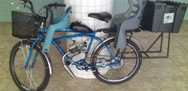 Bike Motorizada 80 cc seminova 2020 - Foto 2