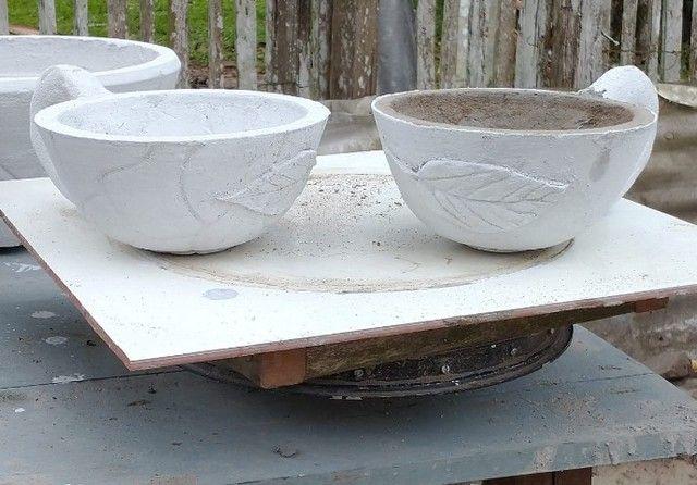 Vasos de cimento artesanal  - Foto 5