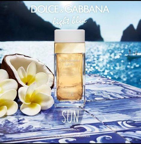 Oportunidade!!! Dolce & Gabbana Feminino light blue Sun 100ml EDT