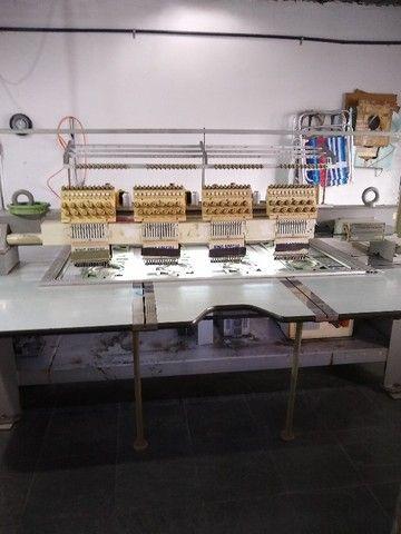 máquina de bordar(2) King Special 4 cabeças 12 cores