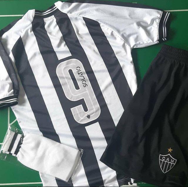Uniforme completo do Atlético Mineiro infantil 2021 - Foto 2