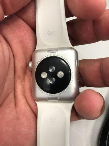 Apple what série 3 38mm GPS usado - Foto 5