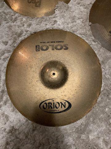 Kit de 3 pratos Orion e Sabian