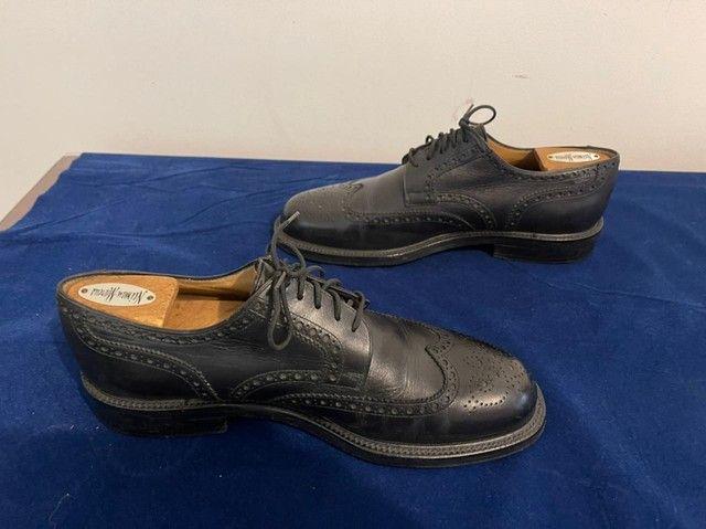 Sapatos italianos, Fratelli Poluso, cromo negro - Foto 2