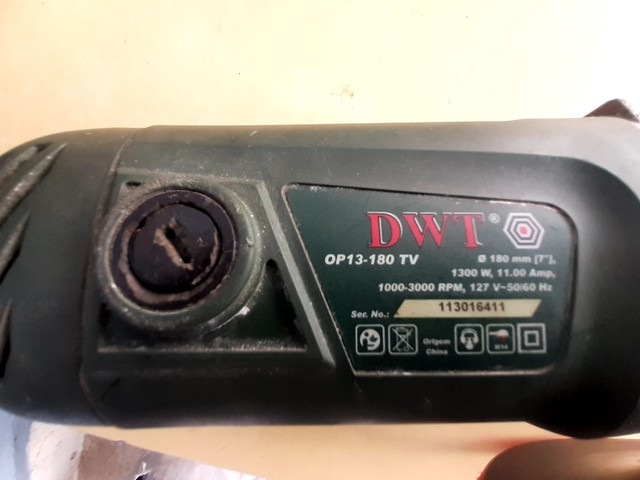 Politriz 1300w 127 volts  7'pol.
