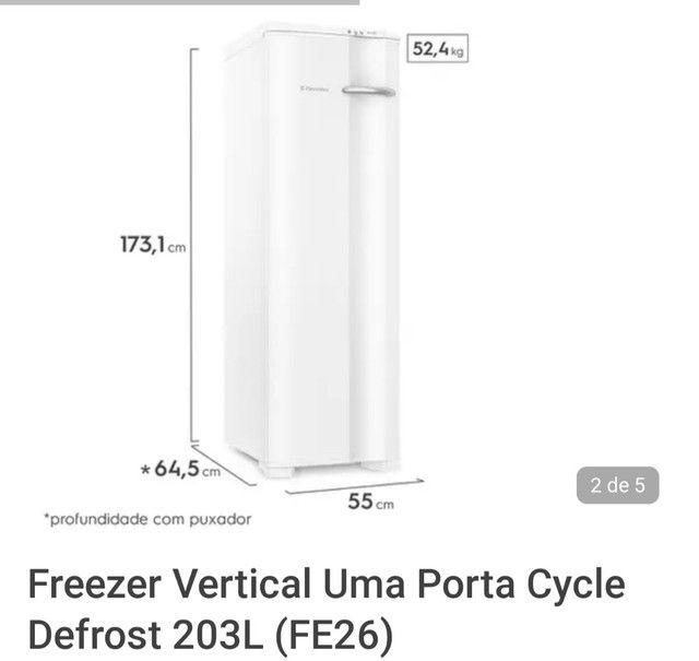 Freezer Electrolux Fe26 220v Industrial - Foto 3