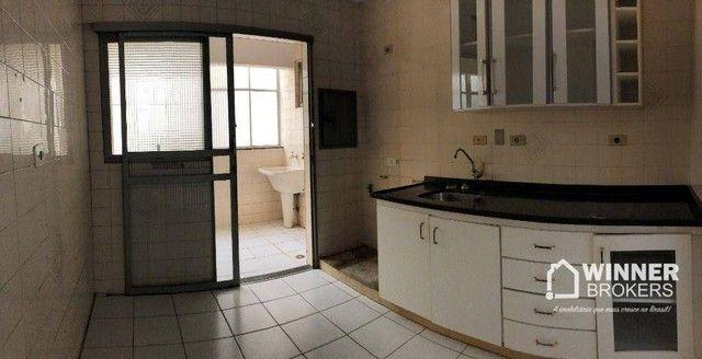 Apartamento com 3 dormitórios para alugar, 84 m² por R$ 1.200,00/mês - Zona 06 - Maringá/P - Foto 2