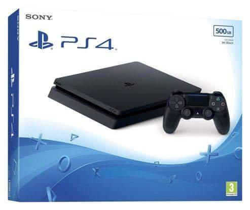 Ps4 Slim 500Gb novo