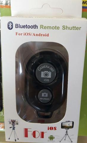 Bastão de Selfie Wireless P/IOS e Android + Controle Remoto Bluetooth - Foto 2